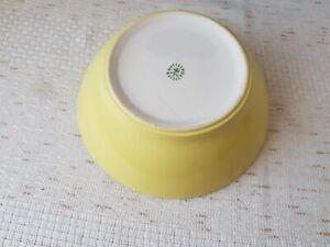 Lilienporzellan Schüssel gelb durchmesse 23cm