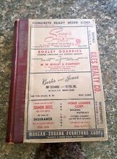 1951 Vintage Roanoke, Virginia, City Directory w/ Every RESIDENT & BUSINESS