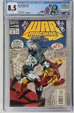 War Machine Issue #8 Marvel Comics 1994 CGC Special Label Grade 8.5 Comic Book