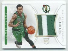 2014-15 Panini National Treasures NBA Rookie Materials #RMJY James Young /99