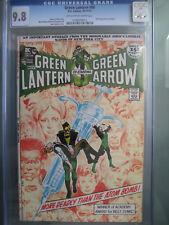 Green Lantern #86 CGC 9.8 DC Comics 1971 Anti-Drug Story - Neal Adams Cover