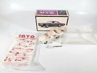 AMT 1/43 Pontiac GTO  Mini Trophy Plastic Model Parts/Restore w/ Original Box