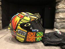 AGV Pista GP Rossi VR46 Carbon Fiber Elements 2013 MS Helmet Motorcycle Rare