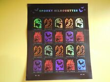 Halloween Spooky Silhouettes Usps Forever Stamp, Sheet of 20 Stamps
