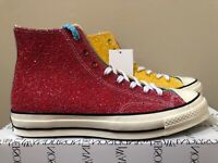 Converse Chuck 70 High JW Anderson Cherry Glitter 164694C LIMITED 100% Authentic