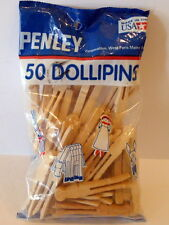 Craft Dollipins Wooden Pins In Original Packaging NEVER OPENED 50 count