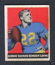 1949 Leaf Football Card #67 Bobby Layne-Detroit Lions
