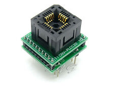 PLCC20 TO DIP20 1.27mm IC120-0204-205 IC Test Socket Programmer Adapter Yamaichi