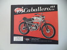 advertising Pubblicità 1970 MOTO FANTIC CABALLERO 50 TX-9  SUPER CROSS
