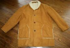 Great Western Sherpa Fleece Rancher Coat Barn Jacket Men 44 Marlboro Man vintage
