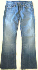 Citizens of Humanity Kelly #001 Low Waist Bootcut Stretch Lt Blue Denim Jeans 26