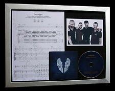 COLDPLAY Midnight CD TOP QUALITY MUSIC FRAMED DISPLAY+EXPRESS GLOBAL SHIP+GHOST