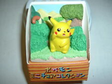 Pokemon Pikachu Action Figure Ceramic Diorama japan
