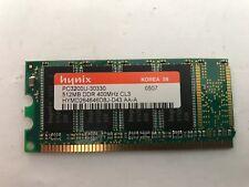 HYMD264646D8J-D43 AA-A - 512MB DDR1 HYNIX PC3200U 400 MHZ CL3 MEMORY DIMM.