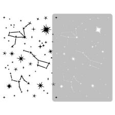 Reusable PLASTIC Wall STENCIL Template // 45x65 or 65x95cm // Kids CONSTELLATION