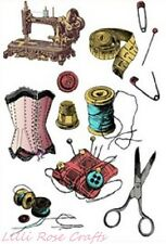 Clear Rubber Stamps - Needlework - 1145 - Cardmaking - Scrapbooking - NEW