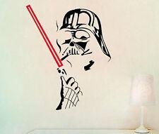 3d star wars stickers murali della parete del PVC Darth Vader Fener Light Saber