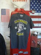 GAS MONKEY GARAGE T SHIRT TAGLIA L (ORIGINALE NUOVO T) 42/44 (siamo nel Regno Unito)