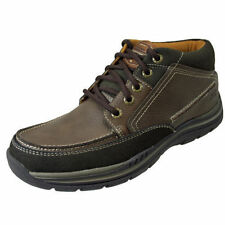 Bottes marrons Skechers pour homme