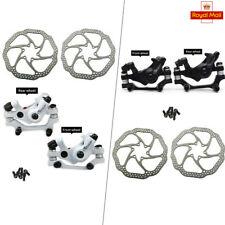 Frenos de disco carretera/bicicleta de montaña bici de partes mecánicas Frenos De Disco Delantero Trasero 160mm Rotor