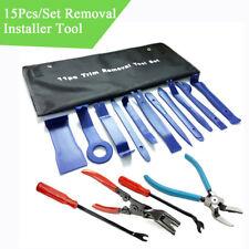 15 Pcs Car Pry Tools Door Panel Removal Install Repair Tool Fastener Clip Pliers