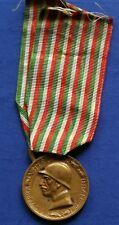 ITALIAN W.W.I WAR BRONZE MEDAL FROM ENEMY CANNONS CONIATA BRONZO NEMICO NELLI #1
