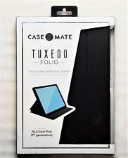 Case-Mate Tuxedo Folio Case for the iPad 10.2 (2019-7th Generation) Black NEW!