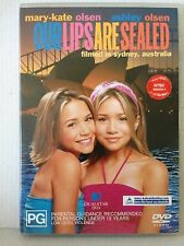 OUR LIPS ARE SEALED ~ MARY-KATE & ASHLEY OLSEN ~ DVD~ FILMED IN SYDNEY AUSTRALIA