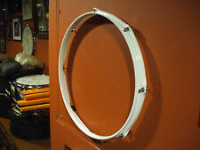 """WHITE 14"""" DRUM HEAD DISPLAY FRAME FOR YOUR AUTOGRAPHED DRUM HEAD HEADFRAMEZ"""