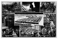Detroit, MI Michigan Plymouth Factory Multi View 1930's Postcard Unposted