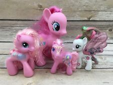 Lot of 4 My Little Pony Pinkie Pie Balloons Pink Figurines