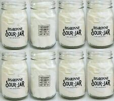 Amaretto Disaronno Originale Sour Jar Glass Mason Jars 8pc Cocktail Drink Italy
