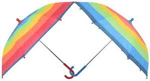Atino Childrens Multi Striped Umbrella with Crook Handle