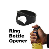 Unique Stainless Steel Finger Ring Bottle Opener Beer Bar Tool SEAU