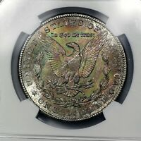 1902-O MS63 Morgan Silver Dollar $1, NGC Graded, Deep Colorful Toned!