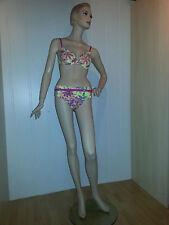 Heine 2-teiliger Bikini Farbe gelb-bunt Größen 38-40-42-44-46 Cup B-C-D NEU
