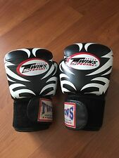 Twins Genuine Leather Boxing Gloves 14oz Tribal MMA