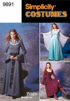 Simplicity Sewing Pattern 9891 Misses Costumes Size 14-20 RR