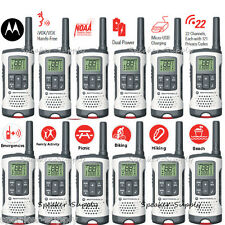 Motorola Talkabout T260TP Walkie Talkie 12 Pack Set Two Way Radio NOAA 25 Mile