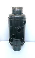 130 Abgaswärmetauscher Warmlufttauscher Kamin Rauchrohr Kaminrohr Rauchgaskühler