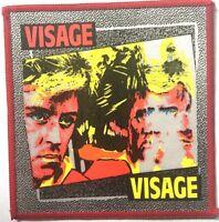 VISAGE Old OG Vtg 70/80`s Printed Patch Sew On Fade To Grey (NOT shirt badge)