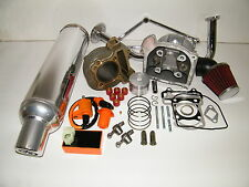 100cc Big Bore Kit Big Valve Head Power Pack Alum Exhaust Chinese Scooter Parts