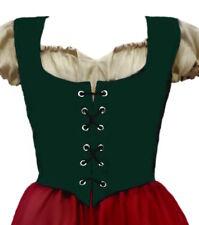 Medieval Renaissance Faire Pirate Fairy Wench Costume Dress up Bodice L/XL SALE