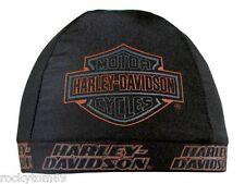 Harley-Davidson Strong H-D Skull Cap Black SK98630