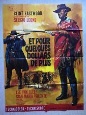 Et pour quelques dollars de plus (Affiche Cinéma EO 1965) Few dollars MASCII