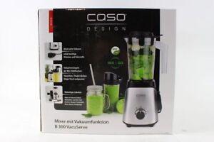 Caso B300 - Standmixer mit Vakuumfunktion und Zerkleinerer