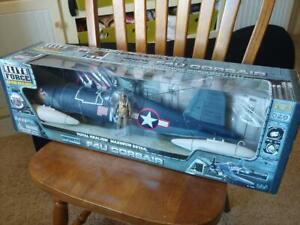 """ELITE FORCES* F4U CORSAIR """"VERY RARE"""",  WWII US NAVAL AIR FORCES, 1/18th Scale"""
