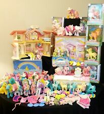 My Little Pony Vintage 80's Mix Mlp ~ Rare~ figurine toys Accessories Lot �