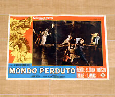 MONDO PERDUTO fotobusta poster The Lost World Arthur Conan Doyle Sci-fi BX13