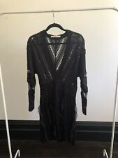 Givenchy Black Tulle Silk Cocktail Dress RRP $3k+